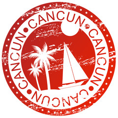 Stamp - Cancun, Mexico