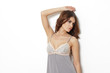 Sensual nightwear woman