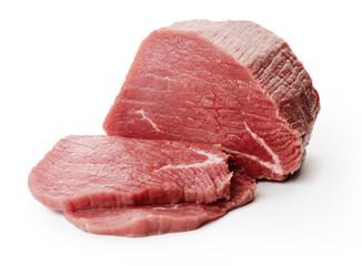 Raw fillet steaks