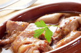 manitas de cerdo, stewed pig feet typical of Spain