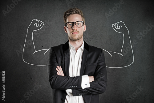 canvas print picture Young and Successful