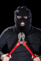 Creepy Burglar