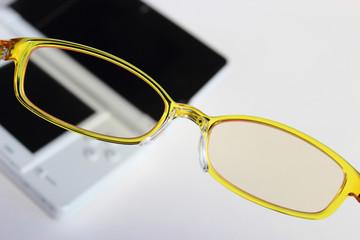 ブルーライト対策眼鏡
