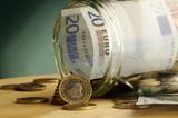 Fototapeta Moneta - Finanse - Pieniądze / Banknoty / Karta Kredytowa