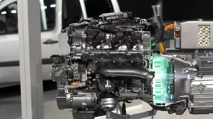 new car hybrid engine