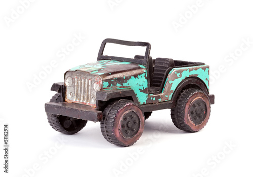 Old toy car.