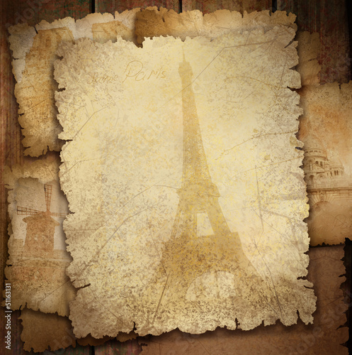 Background for Paris city design.