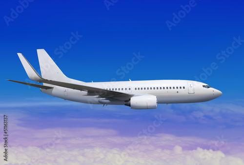 lądowanie samolotu w odległości l nieba