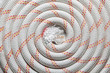 Roll of rope background