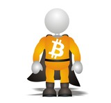 bitcoin  - new super hero currency