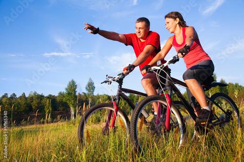 Fototapete Radfahren - Fahrräder - Rennrad - Poster - Aufkleber