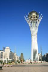 Baiterek - the symbol of the capital, Astana.