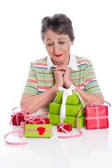 Großmutters 75. Geburtstag - Geschenke