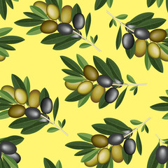 Olive seamless texture