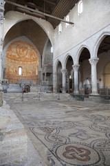 Mosaico e parte della navata, Basilica di Aquileia