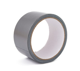 gray tape isolated