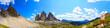 Tre Cime di Lavaredo - Dolomite - Italy, panorama
