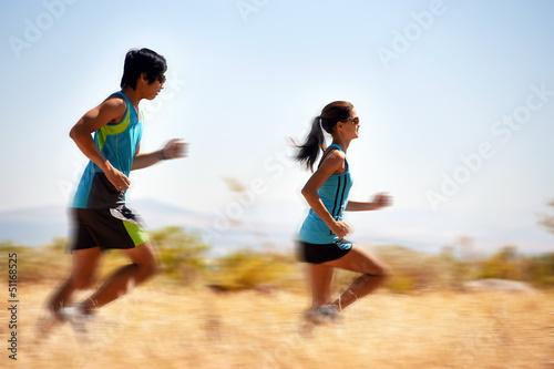 fitness running blur