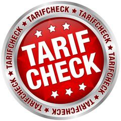 """Button """"Tarifcheck"""" rot/silber"""