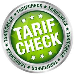 """Button """"Tarifcheck"""" grün/silber"""