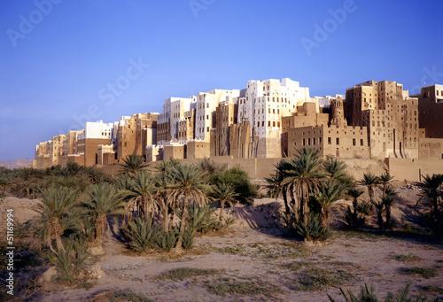 Shibam also called Manhattan of Yemen
