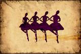Retroplakat - Ballerinas