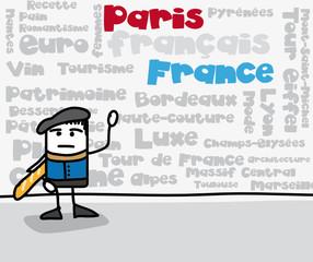 Nuage de tags - Mots-clés : France