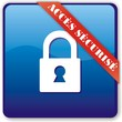 bouton accés sécurisé