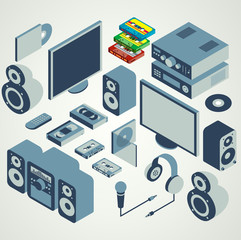audio video element set