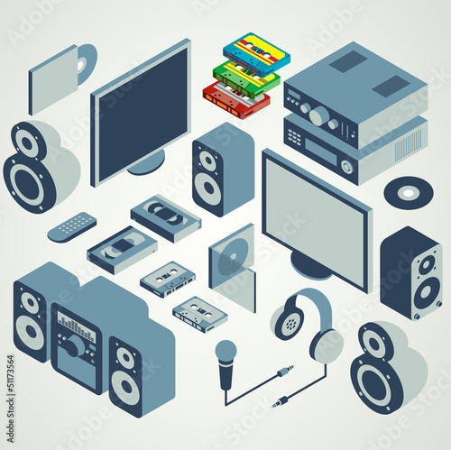 audio video element set