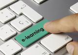 e-learning verd Keyboard key Finger