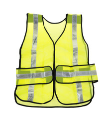 Florescent yellow safety vest