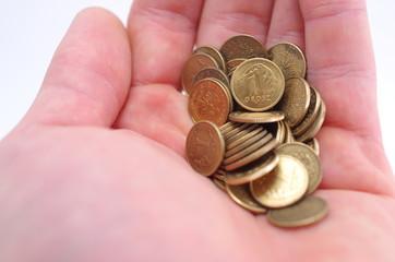Garść drobnych monet