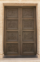 Door of the Cathedral St James
