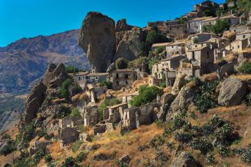 Pentidattilo, Calabria, Italia
