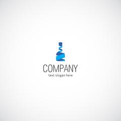 Wine business company logo