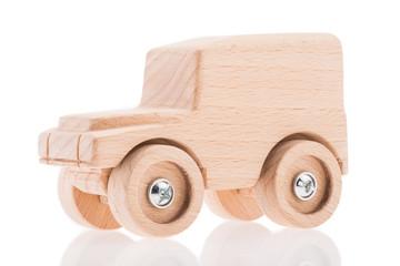 Landrover Defender 90 als Holzmodel