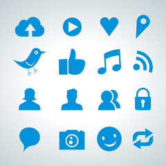 social network icon set - 2013_04 - 01