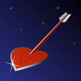 Heart arrow