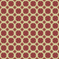 Geometric seamless decorative pattern