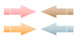 various color arrows