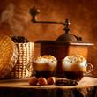Caffè con Panna e nocciole