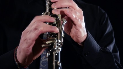 clarinet close up