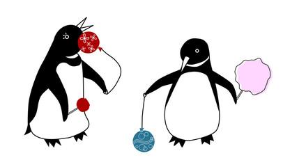 ペンギンの夏祭り