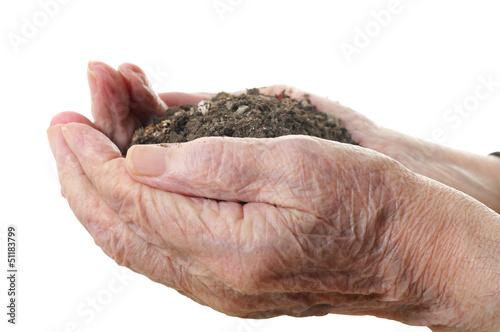 Ground in senior handful