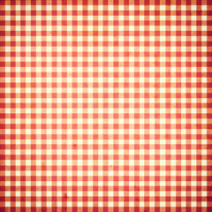 red checked grunge background