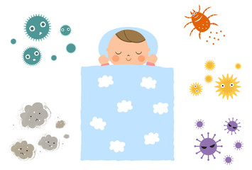 赤ちゃんとアレルゲン