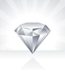 Shiny Diamond Illustration