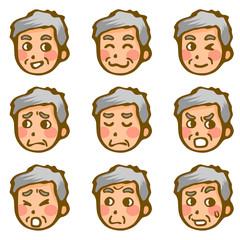 男性の表情