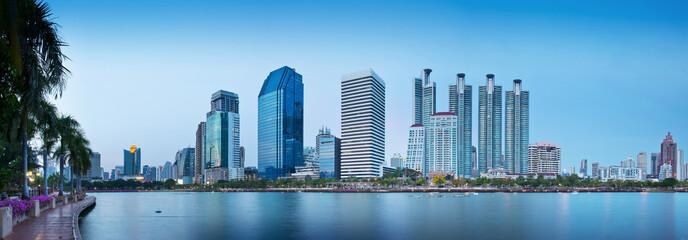 Modern Urban City, Bangkok, Thailand